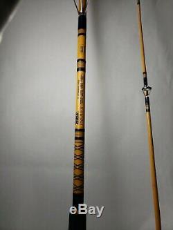Zebco Premier 8' Medium-heavy Spinning Rod Avec B-mag 1000 Bobine De 2pc