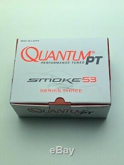 Zebco Quantum Pt, Sm101hpt Enrouleur Baitcast Smoke S3 7,31, 10 + 1 Roulements Main Gauche