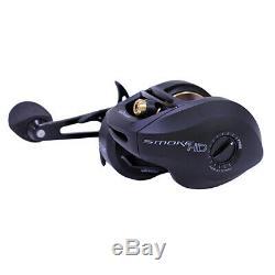 Zebco Quantum Shd200hpt, Bx2 Moulinet De Pêche Baitcast Pour Usage Intensif, Fumée 7.31, 7bb, Rh