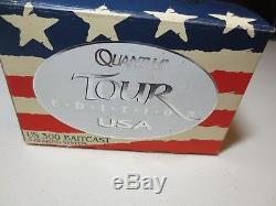 Zebco Quantum Tour Edition USA 300 Système De Roulement Baitcast 3 Nib