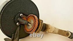 Zebco Spinner Model 55, Johnson Sa'bra Model 130-a Vintage Spinner Reel Set