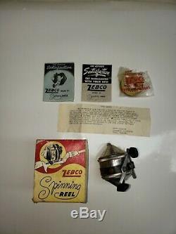 Zebco Vintage 33, Boîte Et Documents. Bateau Gratuit