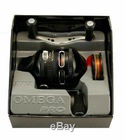 (lot De 2) Zebco Omega Pro 3 Z03pro 3,41 Rapport De Vitesse De Roulement 7 Spincast Reel