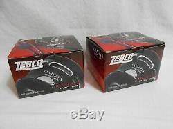 (lot De 2) Zebco Omega Pro Br Z03probr 7 Roulement Spincast Reels Tout Neuf Dans La Boîte